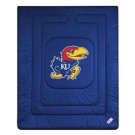 "Kansas Jayhawks Jersey Mesh Twin Comforter from ""The Locker Room Collection"" by Kentex"
