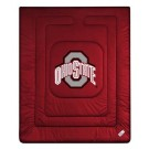 """Ohio State Buckeyes Jersey Mesh Twin Comforter from """"The Locker Room Collection"""" by Kentex"""