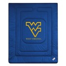 "West Virginia Mountaineers Jersey Mesh Twin Comforter from ""The Locker Room Collection"" by Kentex"