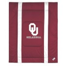 """Oklahoma Sooners Jersey Mesh Twin Comforter from """"The Sidelines Collection"""" by Kentex"""