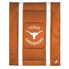 "Texas Longhorns Jersey Mesh Full / Queen Comforter from ""The Sidelines Collection"" by Kentex"