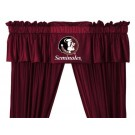 Florida State Seminoles Coordinating Valance for the Locker Room or Sidelines Collection by Kentex