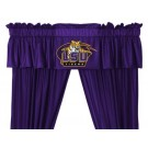 Louisiana State (LSU) Tigers Coordinating Valance for the Locker Room or Sidelines Collection by Kentex