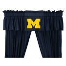 Michigan Wolverines Coordinating Valance for the Locker Room or Sidelines Collection by Kentex