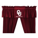 Oklahoma Sooners Coordinating Valance for the Locker Room or Sidelines Collection by Kentex