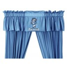 North Carolina Tar Heels Coordinating Valance for the Locker Room or Sidelines Collection by Kentex