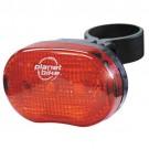 Planet Bike Blinky 3 Rear Bicycle Light - Three-LEDs