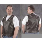 Men's Retro Brown Premium Buffalo Vest