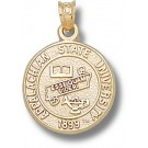 "Appalachian State Mountaineers ""Seal"" Pendant - 14KT Gold Jewelry"