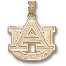 """Auburn Tigers 5/8"""" """"AU"""" Lapel Pin - 14KT Gold Jewelry"""