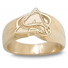 "Colorado Avalanche ""A Logo"" Ladies' Ring Size 6 1/2  - 14KT Gold Jewelry"