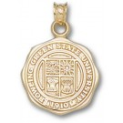 """Bowling Green State Falcons """"Seal"""" Pendant - 10KT Gold Jewelry"""