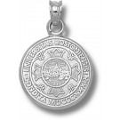 "Boston Terriers ""Seal"" Pendant - Sterling Silver Jewelry"