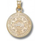 "Boston Terriers ""Seal"" Pendant - 14KT Gold Jewelry"