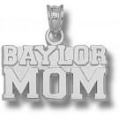 "Baylor Bears ""Baylor Mom"" Pendant - Sterling Silver Jewelry"