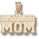 "Baylor Bears ""Baylor Mom"" Pendant - 14KT Gold Jewelry"