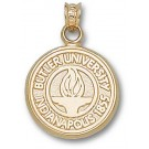 "Butler Bulldogs ""Seal"" Pendant - 14KT Gold Jewelry"