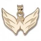 "Washington Capitals 5/8"" Eagle Pendant - 14KT Gold Jewelry"