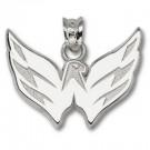 "Washington Capitals 5/8"" Eagle Pendant - Sterling Silver Jewelry"