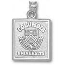"""Columbia Lions Square """"Seal"""" Pendant - Sterling Silver Jewelry"""
