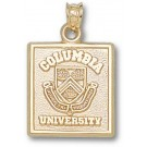 """Columbia Lions Square """"Seal"""" Pendant - 14KT Gold Jewelry"""