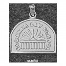 """Columbia Lions """"Law School Seal"""" Pendant - Sterling Silver Jewelry"""