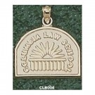 """Columbia Lions """"Law School Seal"""" Pendant - 14KT Gold Jewelry"""