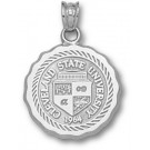 """Cleveland State Vikings """"Seal"""" Pendant - Sterling Silver Jewelry"""