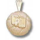 "Central Michigan Chippewas ""CMU Basketball"" Pendant - 14KT Gold Jewelry"
