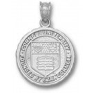 """Cornell Big Red Bears """"Seal"""" 5/8"""" Pendant - Sterling Silver Jewelry"""