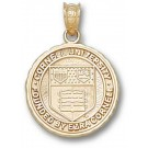 "Cornell Big Red Bears ""Seal"" 5/8"" Pendant - 14KT Gold Jewelry by"