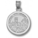 "California State (Chico) Wildcats ""Seal"" Pendant - Sterling Silver Jewelry"