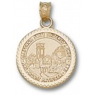 "California State (Chico) Wildcats ""Seal"" Pendant - 14KT Gold Jewelry"
