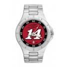 Tony Stewart #14 Men's Pro II Watch with Stainless Steel Bracelet