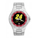 Jeff Gordon #24 Men's Pro II Watch with Stainless Steel Bracelet