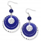 Jimmie Johnson Game Day Earrings by