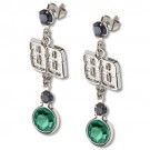 Dale Earnhardt Jr. #88 Logo Crystal Earrings