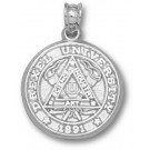 "Drexel Dragons ""Seal"" Pendant - Sterling Silver Jewelry"