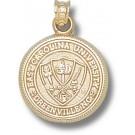 "East Carolina Pirates ""Seal"" Pendant - 14KT Gold Jewelry"