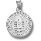 """Eastern Illinois Panthers """"Seal"""" Pendant - Sterling Silver Jewelry"""