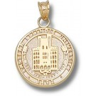 """Eastern Illinois Panthers """"Seal"""" Pendant - 14KT Gold Jewelry"""