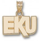 "Eastern Kentucky Colonels ""EKU"" 3/8"" Pendant - 14KT Gold Jewelry"