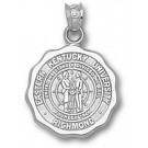 "Eastern Kentucky Colonels ""Seal"" 5/8"" Pendant - Sterling Silver Jewelry"