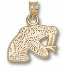 "Florida A & M Rattlers ""Rattler"" Pendant - 10KT Gold Jewelry"