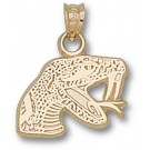 "Florida A & M Rattlers ""Rattler"" Pendant - 14KT Gold Jewelry"