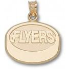 "Philadelphia Flyers ""Flyers Puck"" Pendant - 14KT Gold Jewelry"