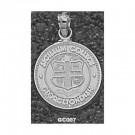 "Georgetown College Tigers ""Seal"" 5/8"" Pendant - Sterling Silver Jewelry"