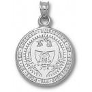 "Georgia Tech Yellow Jackets ""Seal"" Pendant - Sterling Silver Jewelry"