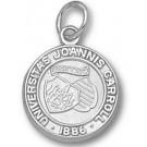 """John Carroll Blue Streaks Small """"Seal"""" Charm - Sterling Silver Jewelry"""