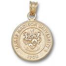"James Madison Dukes ""Seal"" Pendant - 14KT Gold Jewelry"